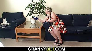Lonely 60 years old grandma..