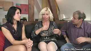 Dirty 3some leisure with..