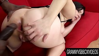 Granny Vs BBC - Hairy Older..