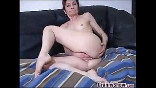 Granny With Small Tits..