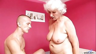 Old Mature Betty Fucks Young..