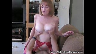 Grandma Rides The Hard Cock..