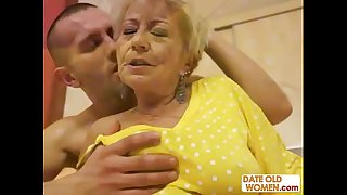 Cum on Granny Compilation p2