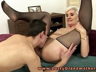 Blonde mature granny pussy..