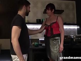 Slutty Granny Takes Good..