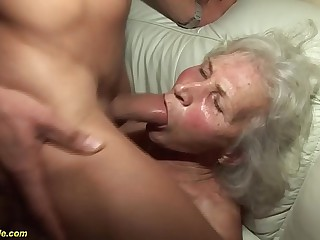 german granny in her first..