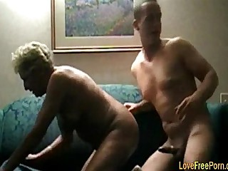 Blonde Granny Woman Fuck Hard