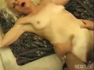 Old Granny gets fucked hard!