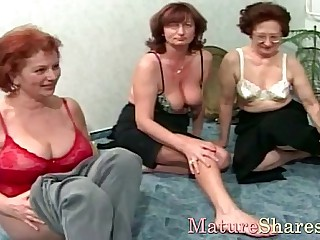 Our granny likes oral sex