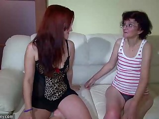 Skinny lesbian wrinkled..