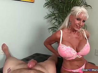 over-Granny loves jerking..