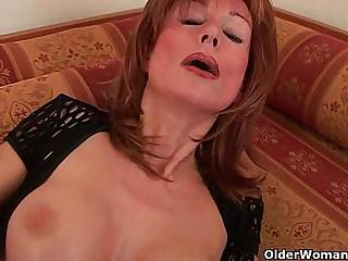 Redheaded grannies in lust..