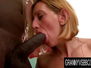 Granny Vs BBC - Older Blonde..