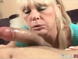 Dirty Talking Blonde Granny..