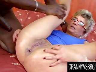 Granny Vs BBC - GILF Jessey..