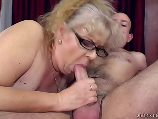 Naughty Granny's sexual..