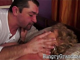 67yo natural granny Marie