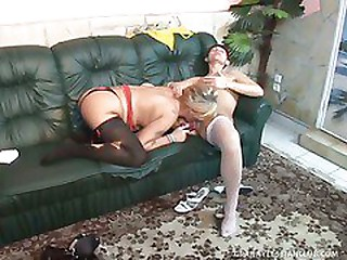Two Grannies Fuck Each Other..