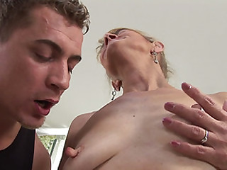 Old sacky lady anal fucked..