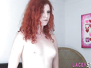 Lesbian gran watches pussy..