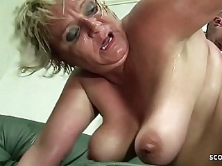 BBW Granny Seduce Teen Boy..
