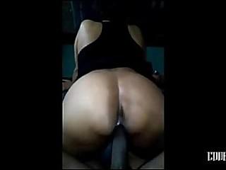 Mature Woman on my big black..