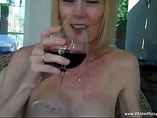 Awesome Amateur Granny With..