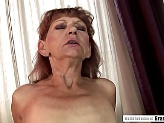 Unshaved granny cunt is..