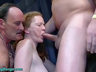 big boob redhead german..