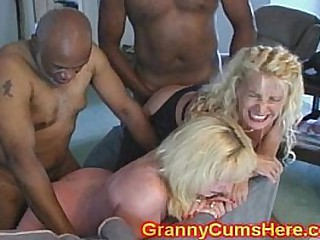 Two GRANNIES ass FUCKED and..