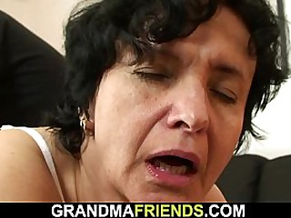 Old granny swallows two..