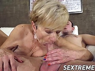 Granny craves for youngster..