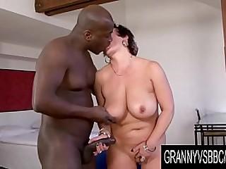GrannyVsBBC - Big Tits..