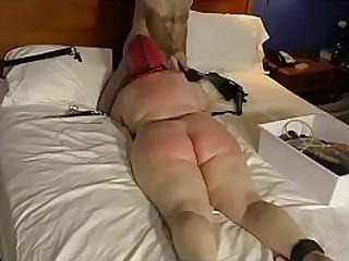 Granny gives a blow job..