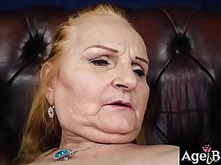 Lusty granny Marianne finds..