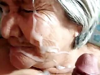 BBC white granny cream pie Bbc