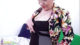 Old NannY Czech Grandma..